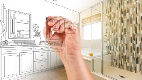 Bathrooms Blueprint design