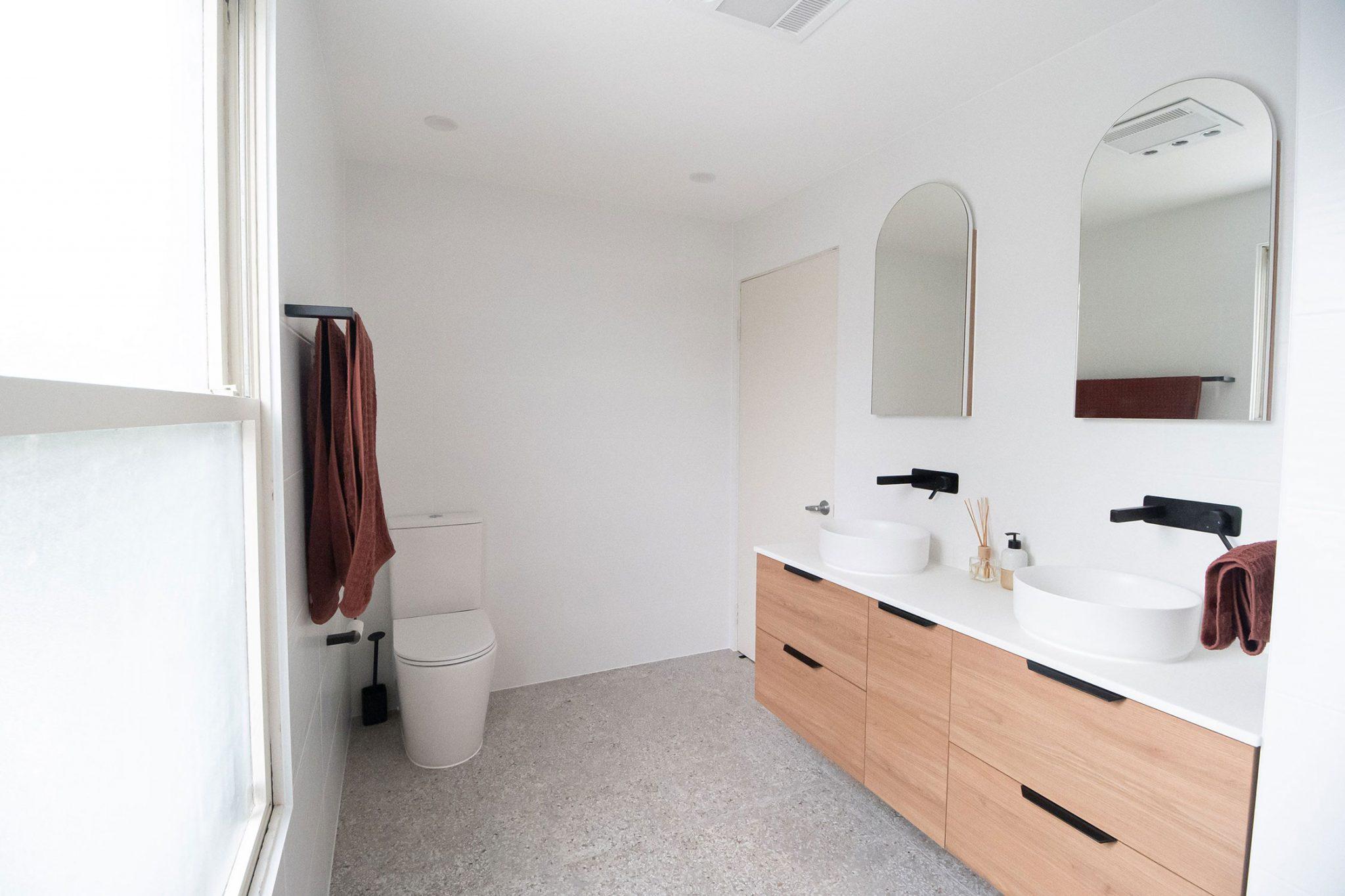 Belle bathrooms - bathroom renovations - Rydalmere Australia
