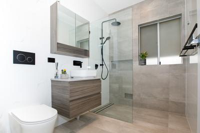 bathroom renovations belle bathrooms Rydalmere Australia