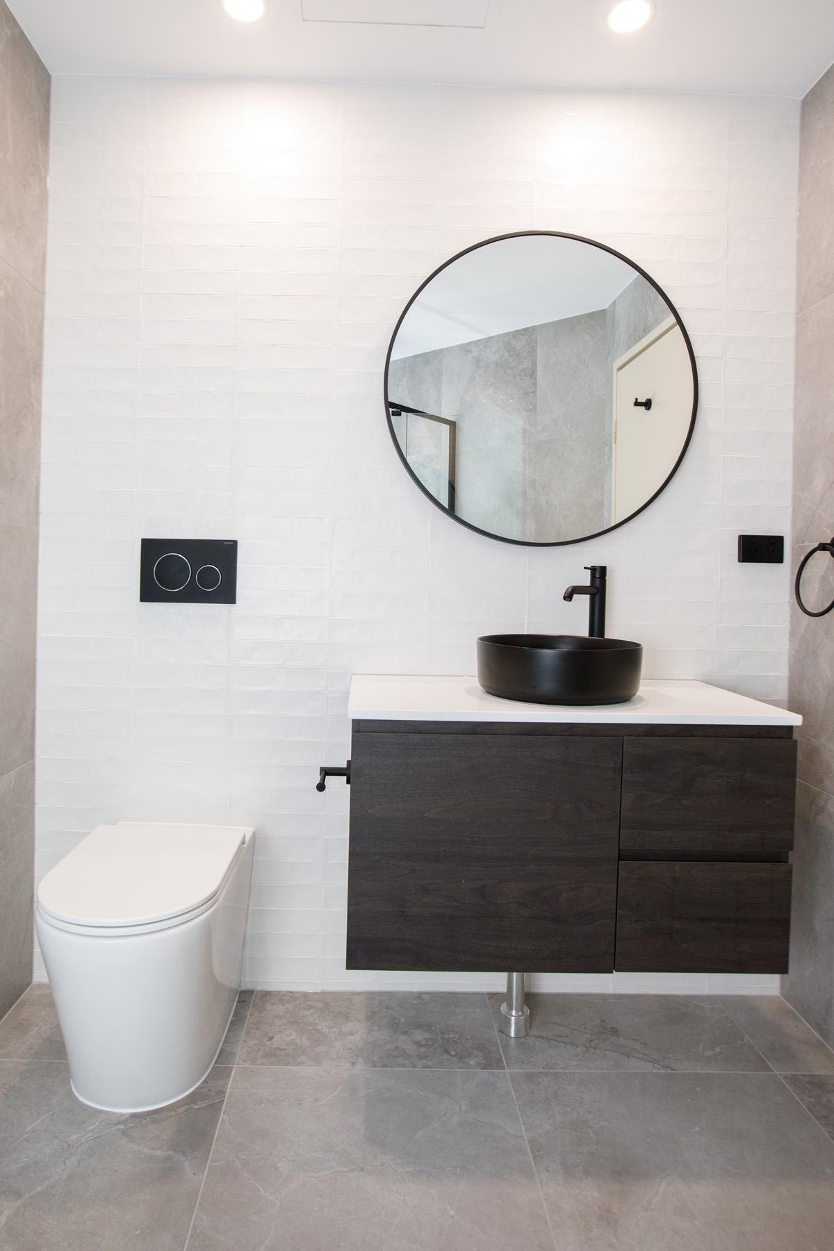 small bathroom renovations belle bathrooms Rydalmere Australia